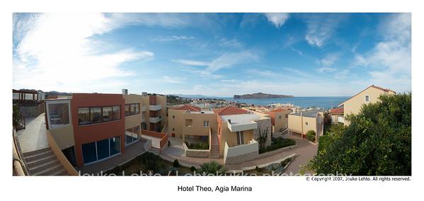Hotel Theo panorama
