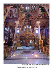 The Church of Kandanos  vertical panorama #1