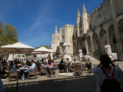 Avignon  Palais des Papes, of which we'll see more later