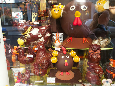 Poulets de Chocolate