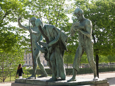 Tuileries Garden The Sons of Cain by Paul Landowski
