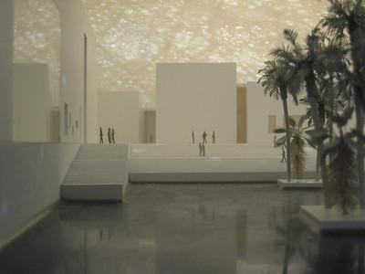 Model interior of the Guggenheim.