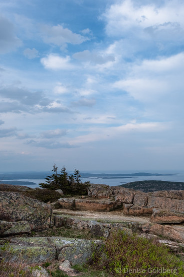 clouds above Cadillac Mountain