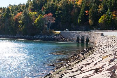 20151019.  Bridge over northern end of Otter Cove, Acadia NP, Mt. Desert Island, ME.