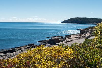 20151019.  View from Park Loop Road, Acadia NP, Mt. Desert Island, ME.
