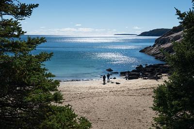 20151019.  Sand Beach in Acadia NP, Mt. Desert Island, ME.