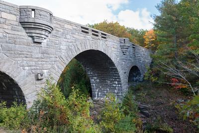 20151018.   Duck Brook Bridge, Acadia NP, Mt. Desert Island, ME.