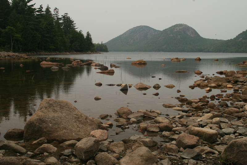 Jordan Pond and The Bubbles.