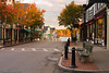 A view down the street in Bar Harbor Maine. It's a very early morning picture so I would avoid civilians.