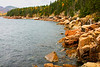 The granite rocks of Otter Cliffs