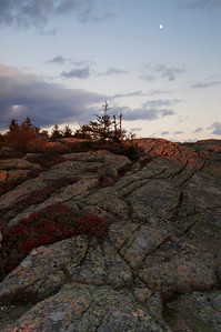 Sunset on Cadillac Mountain, Acadia National Park