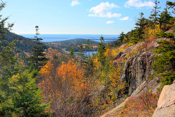 A beautiful view from Bubble Rock.