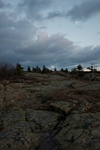 Cadilliac Mountain Evening, Acadia National Park