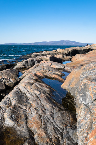 at the tip of the Schoodic Peninsula