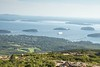 View from Cadillac Mountain - tallest summit on the East Coast