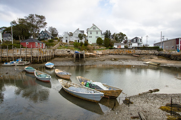 boats in a line, Stonington