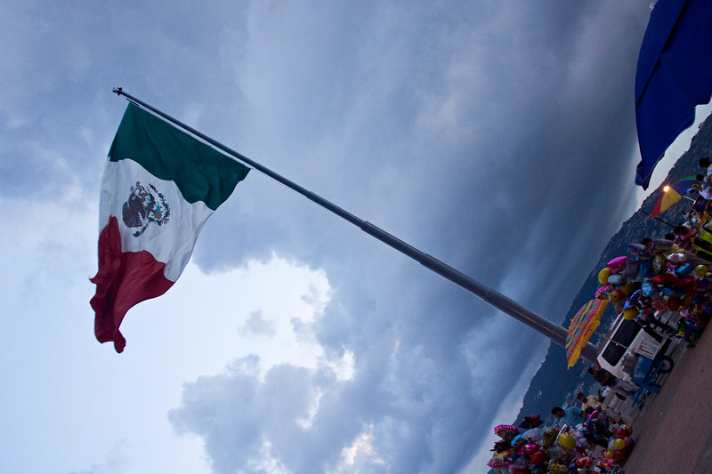 Mexican Flag<br /> This was the most ginormous flag!