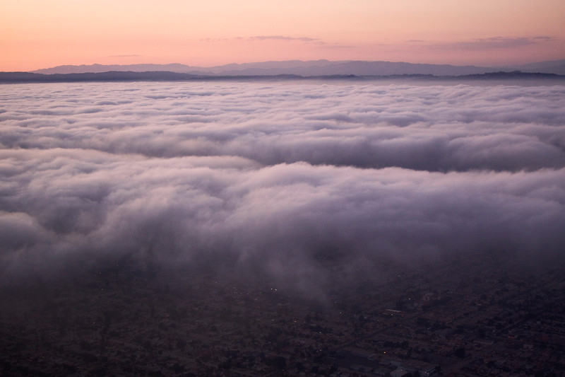 LA from the Clouds
