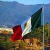Mexican Flag on Pier Park