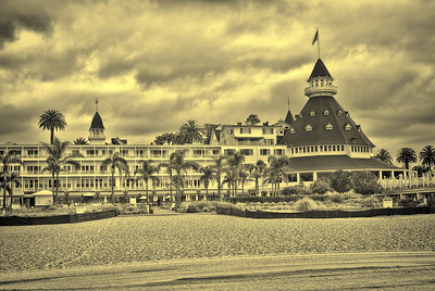 Hotel Del 1 toned collection_antique dye