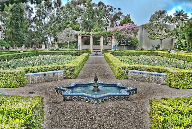 Balboa Park Garden 1