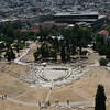 The Theatre of Dionysus Eleuthereus, Athens, Greece<br /> <br /> The Theatre of Dionysus Eleuthereus is a major open-air theatre and one of the earliest preserved in Athens. It was used for festivals in honor of the god Dionysus.