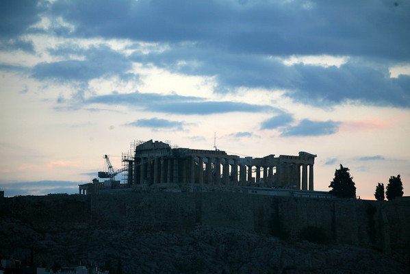Acropolis in Morning Light, Athens, Greece