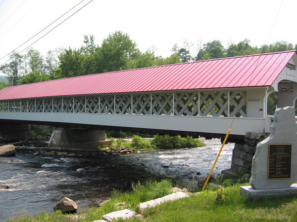 Covered bridge, southern New Hampshire