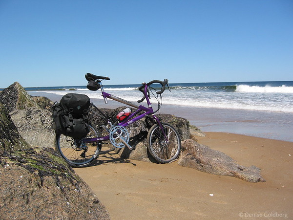 Hey wait you crazy bike - you can't ride on water!