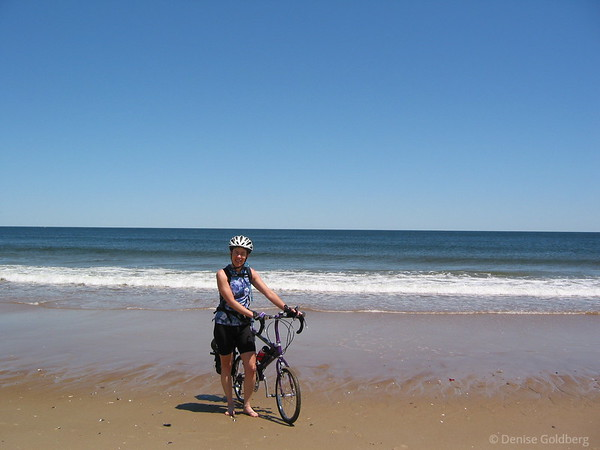 Me, on the beach at Plum Island