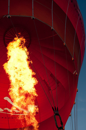 Balloon flight, Milton Keynes, 23rd May, 2009