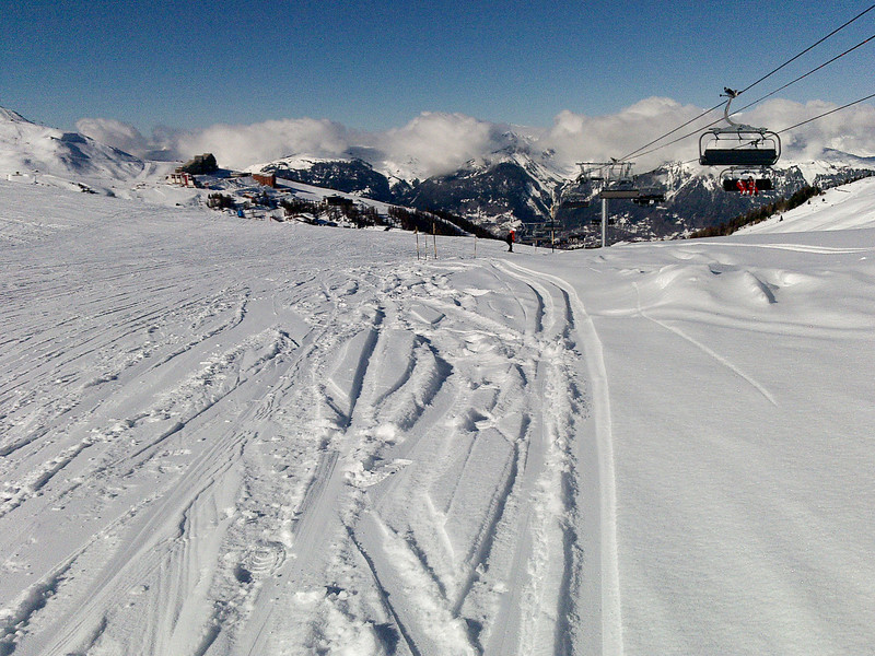 The top of Bergerie lift