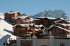 La Plagne Soleil shops and apartments