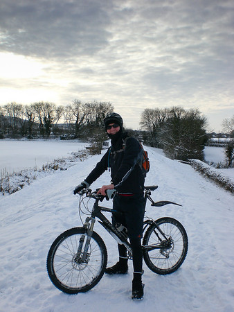 Snow riding, 9th January 2010