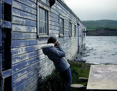 Original Lake Andrew (Lake Andy) Boathouse (note high water mark on side of building)
