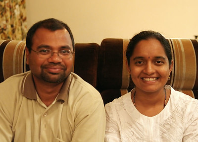 Sri and Usha.