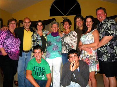 Adios Puerto Rico: El Jardin Botanico Gardens Walk & Family Dinner at Pablo's San Juan and Salinas PR, and Flight to Miami FL February 20-21, 2010