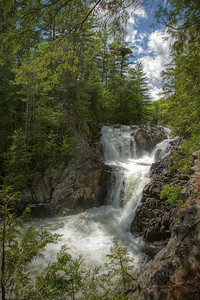 Split Rock Falls in the Adirondacks