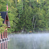 Lonetree Camp boathouse - everyone needs one of these!<br /> Spitfire Lake, Paul Smiths, NY
