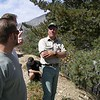 Greg explaining to us how important the Cajon Pass is to our daily lives.