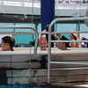Oh hi, Nana - Look!  I'm in the hot tub!