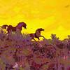 Horse statues, Vantage, WA.