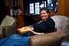 Sharon made us yummy lasagna back at the cabin