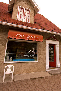 We visited the Gust Gallery in the Waterton townsite.