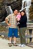 Salleh family at Cameron Falls