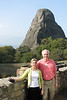 Claudia and Wes Sturges '71 at Meteora