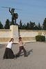 Karen and Hannah at Thermoplylae