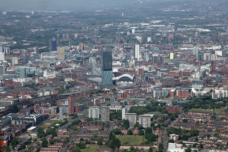 Betham Tower & Manchester City Centre