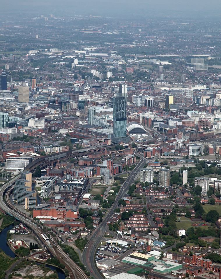 Manchester from Old Trafford
