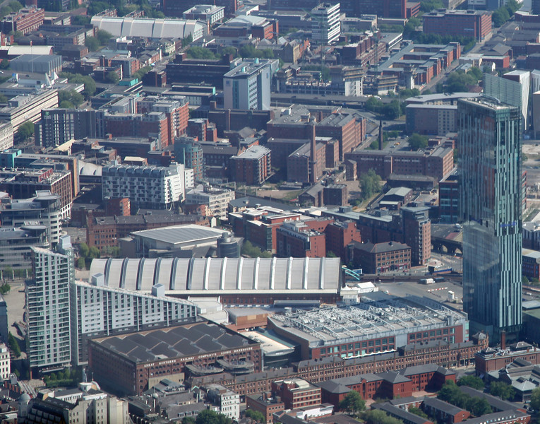 Beetham Tower, Deansgate & Great Western